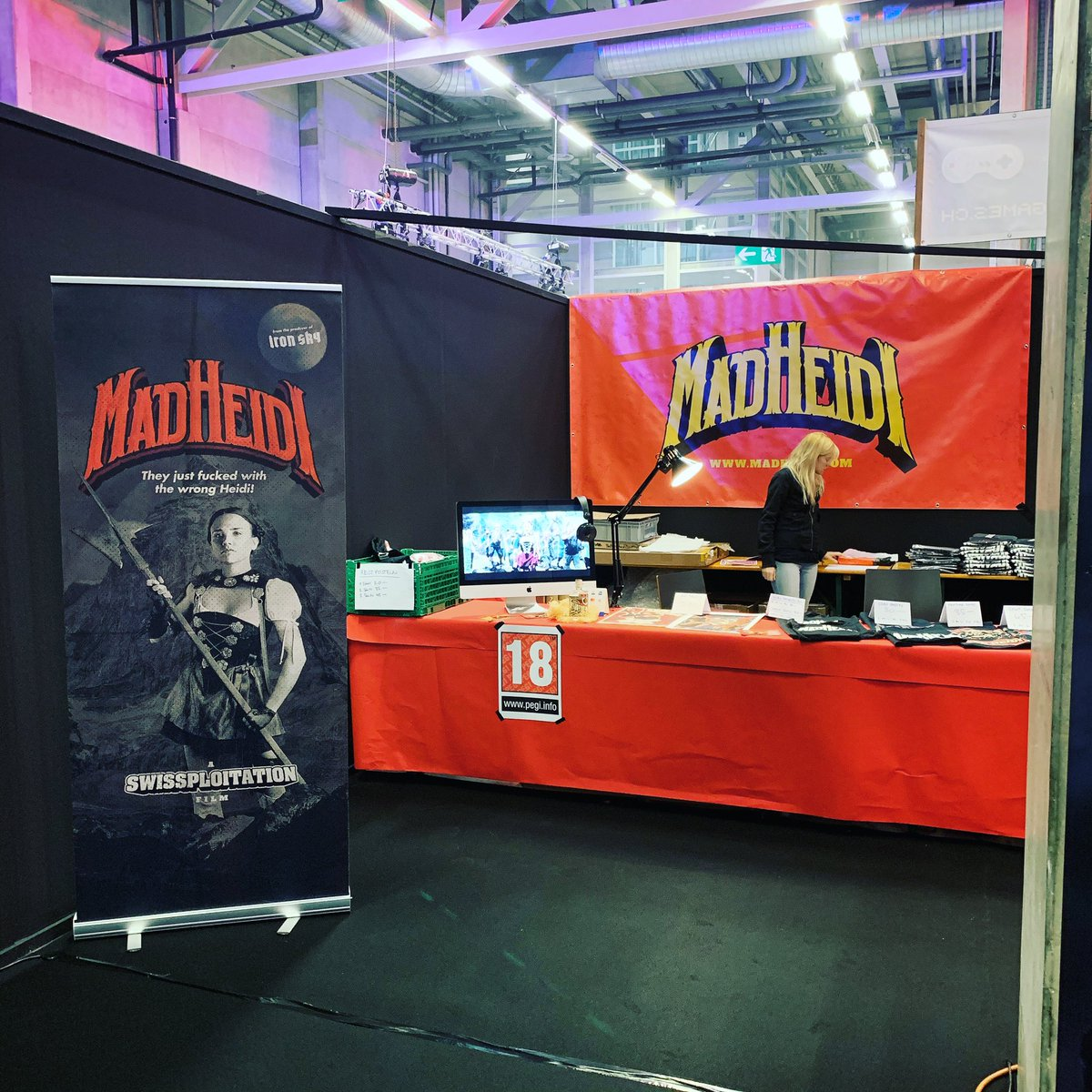 Visit us at HeroFest this weekend!   From today until Sunday!  #herofest @herofestch @SGDAch @igdach @Swissgamecenter @SwissGamersSGN #swissgames #swissfilms #swissfilm pic.twitter.com/KOM2zTb6L8