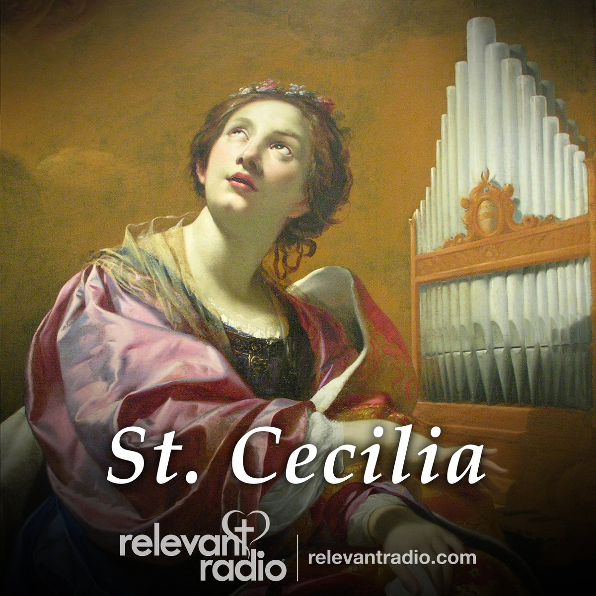 @relevantradio's photo on St. Cecilia