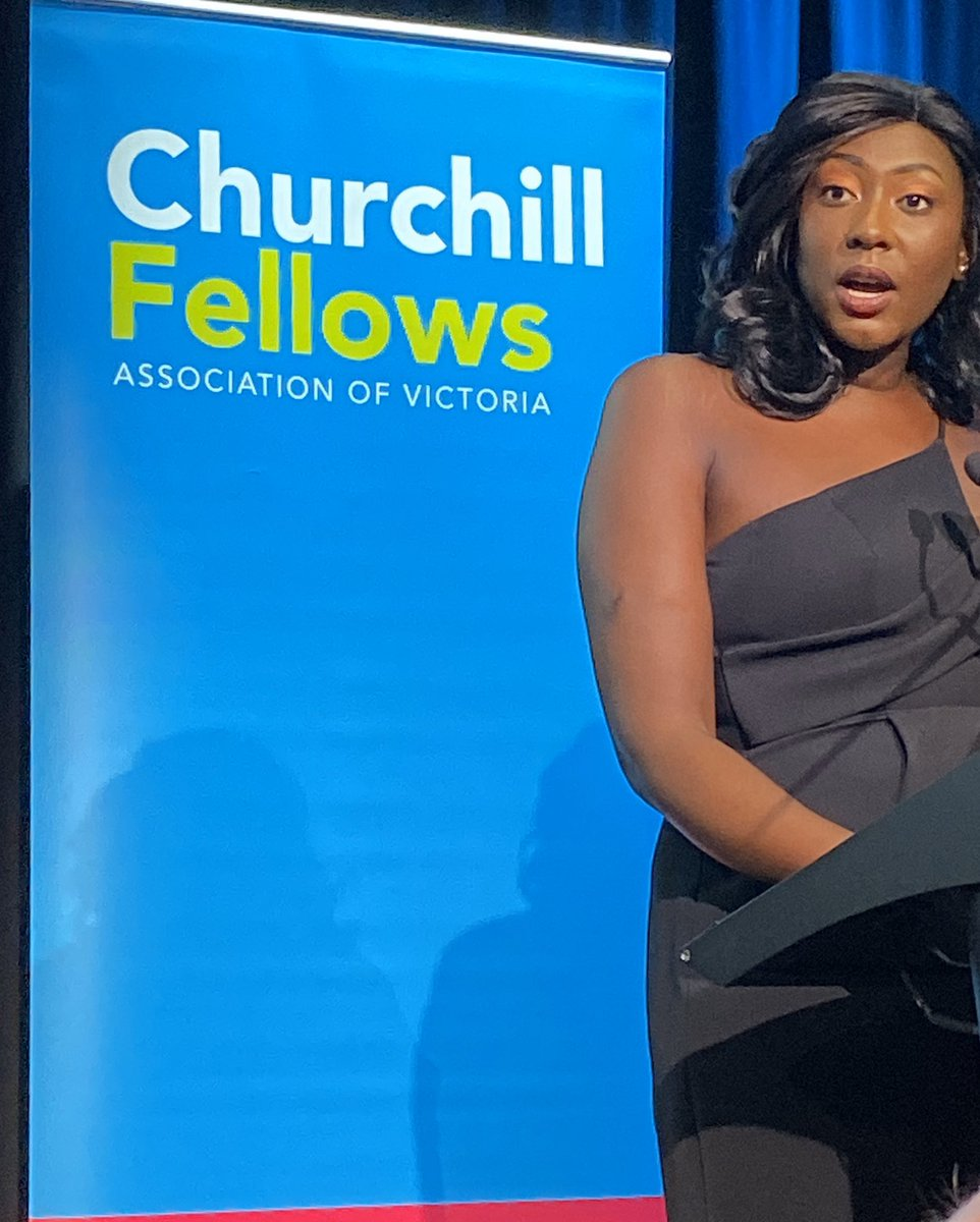 "Massive congratulations to Adongwot Manyoul on the 2019 Peter Mitchell @ChurchillTrust Fellowship to investigate ways Africans have been integrated in other Western multicultural societies. ""Like all Australians we simply ask for the opportunity to contribute our voices"""