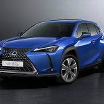 Image for the Tweet beginning: Lexus makes first EV a