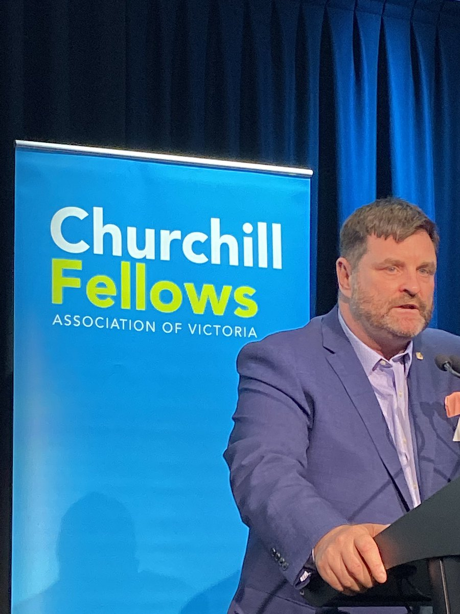 It's grim listening hearing about the impact of people with disabilities in prison; so much worse for Indigenous people. Patrick McGee has been awarded a 2019 @ChurchillTrust Fellowship to investigate models of disability supports to people with disability detained in prison.