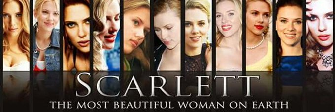 Wishing a very happy birthday to the most beautiful woman in the world, Scarlett Johansson