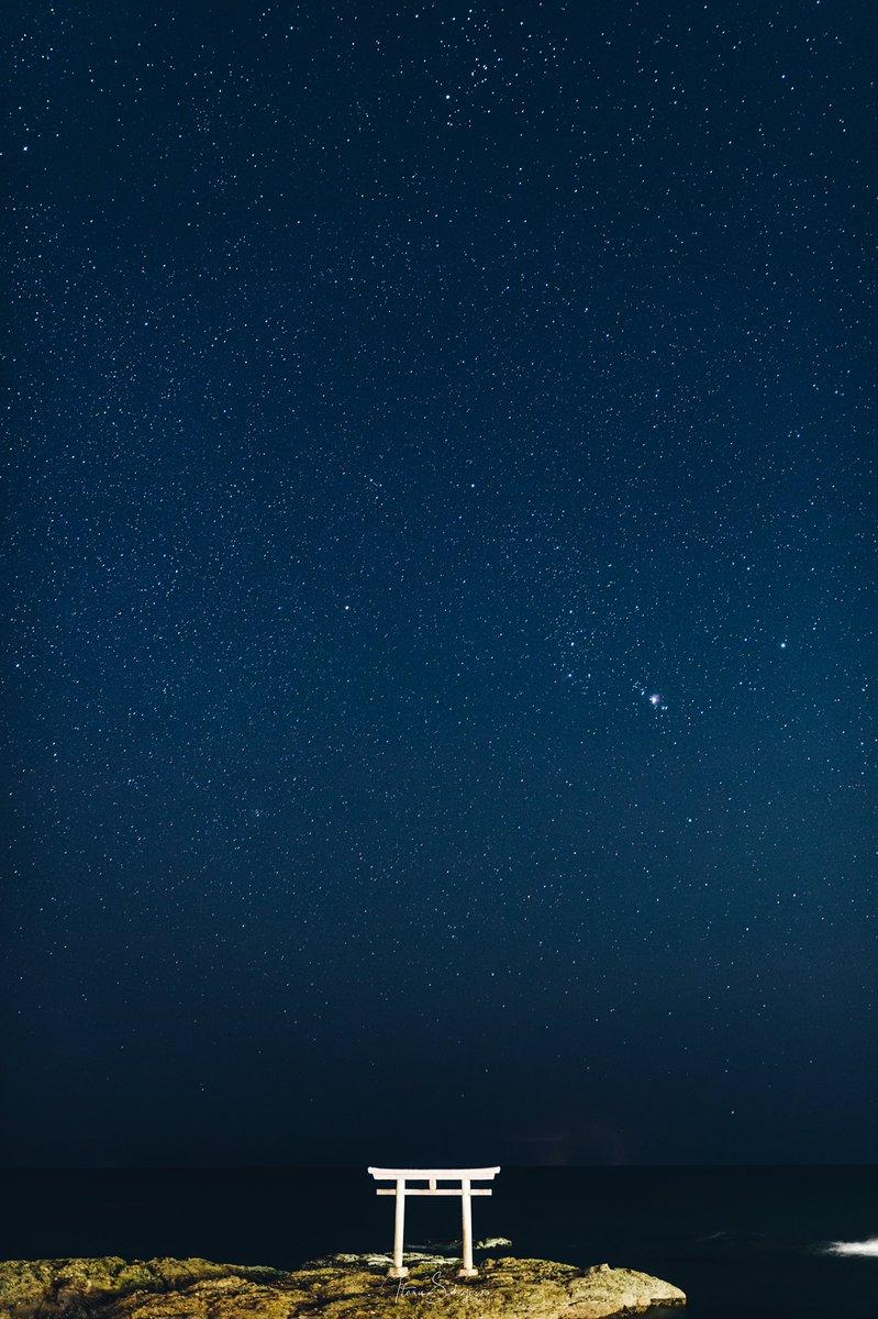 昨日の大洗の星空があまりにも綺麗だったので見てほしい。