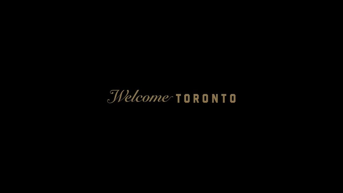 This is Toronto. Welcome home.   @welcomeOVO | #WeTheNorth
