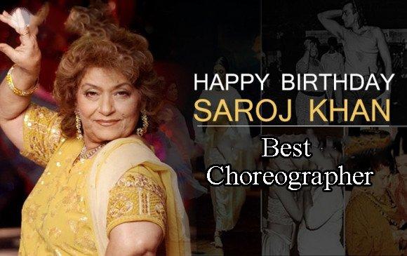 Happy Birthday Saroj Khan ji