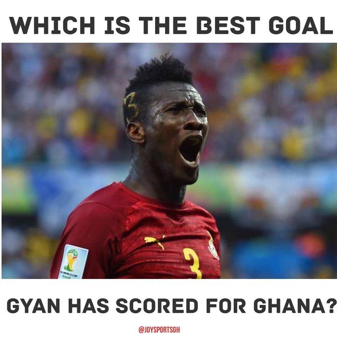 Happy birthday, Asamoah Gyan!