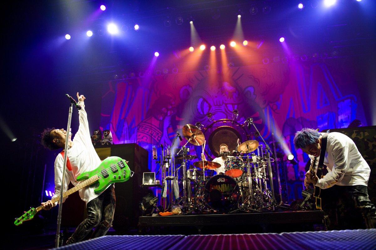 【COMINATCHA!!TOUR 2019-2020】酒田市民会館 希望ホール!!Photo by Jon…#WANIMA #カミナッチャツアー