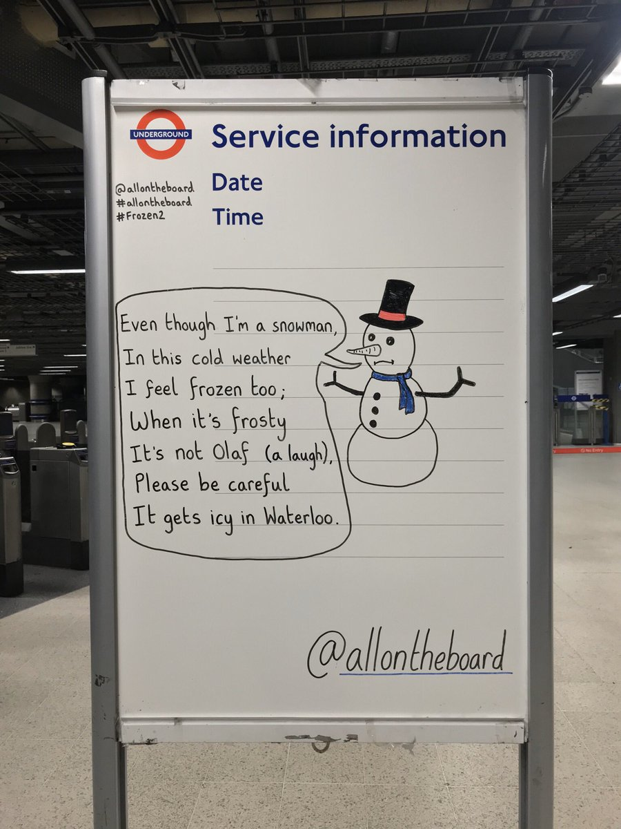 It's cold in London today and the temperature is going to drop this week. Is anybody else feeling frozen too? @allontheboard #Weather #Temperature #London #Frozen2 #allontheboard