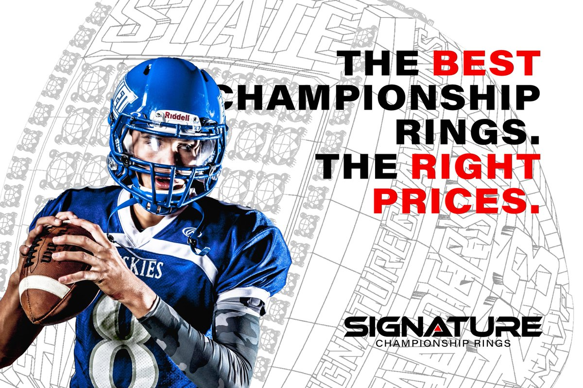 Championship ring season is upon us!! 🏈 Good luck to all the teams fighting for the right to be called champions.
