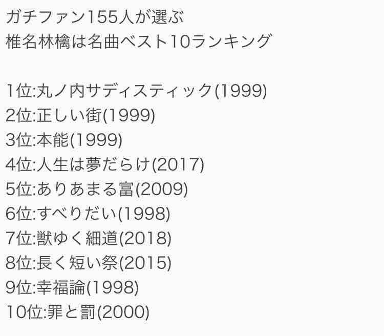 椎名林檎ファンが選ぶ名曲ベスト10👐#Mステ#椎名林檎