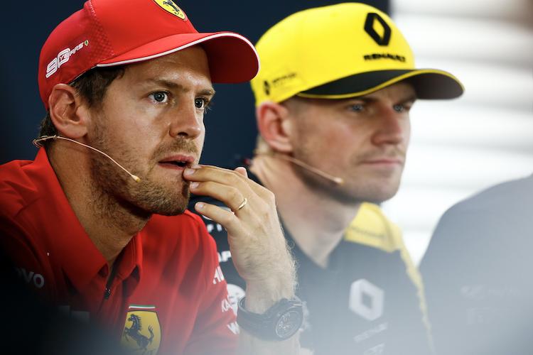 #Ferrari-Star Sebastian #Vettel bedauert, dass sein Landsmann Nico #Hülkenberg im nächsten Jahr nicht in der #F1-Startaufstellung stehen wird. Er betont: «Nico hat das Potenzial, um hier zu sein.» #Formel1 #MotorSport https://buff.ly/2QKxvZ9