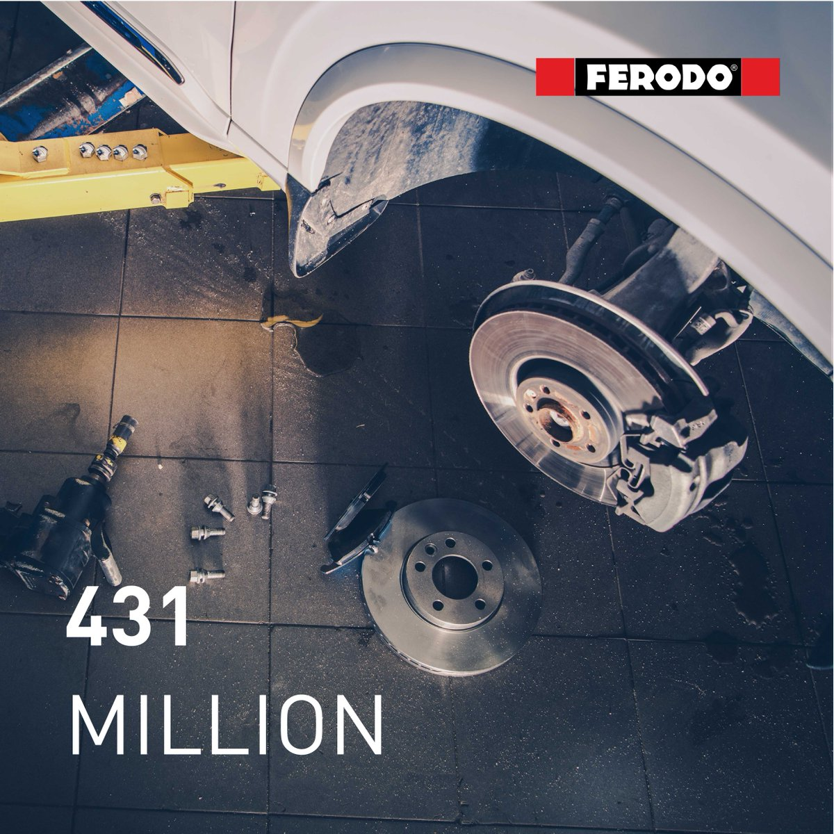 Why choose Ferodo? In the last 10 years, we have produced over 431 million brake pads as original equipment. We are a preferred partner to vehicle manufacturers. https://t.co/nsiZ3YAaYM