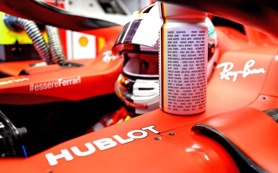 L'#EssereFerrari secondo Sebastian  #Vettel: una grande famiglia, dove ogni singolo nome di questa storia deve essere citato. Si vince e si perde tutti insieme.