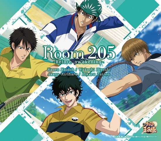 【FEEL MEE】2020年1月22日(水)発売!リズムアクションゲーム「新テニスの王子様 RisingBeat」2周年記念曲、海堂 薫・日吉 若・切原赤也・財前 光が歌う「Room 205 -Before awakening-」「Room 205 -After awakening-」のCD情報&ジャケット画像が到着しました!詳細はコチラ→