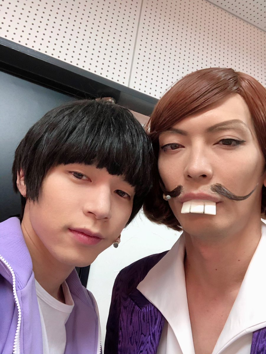おそ松さん on STAGE ~SIX MEN'S SHOW TIME3~兵庫公演二日目終了しました。ご来場誠に有難うございました。一松と。しぇぇぇ#松ステ3