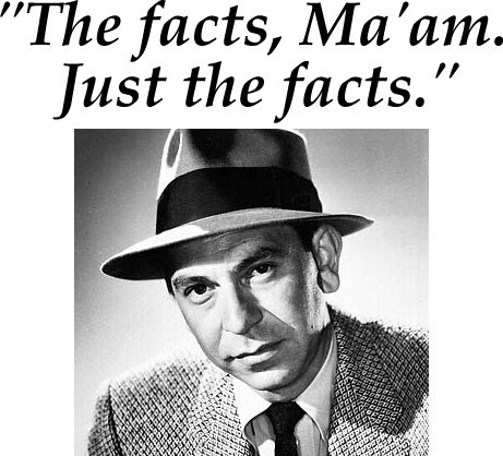 """Karen M. Smith on Twitter: """"Boom! """"Just the facts ma'am, just the facts."""" (Sgt. Joe Friday on Dragnet) 😂… """""""