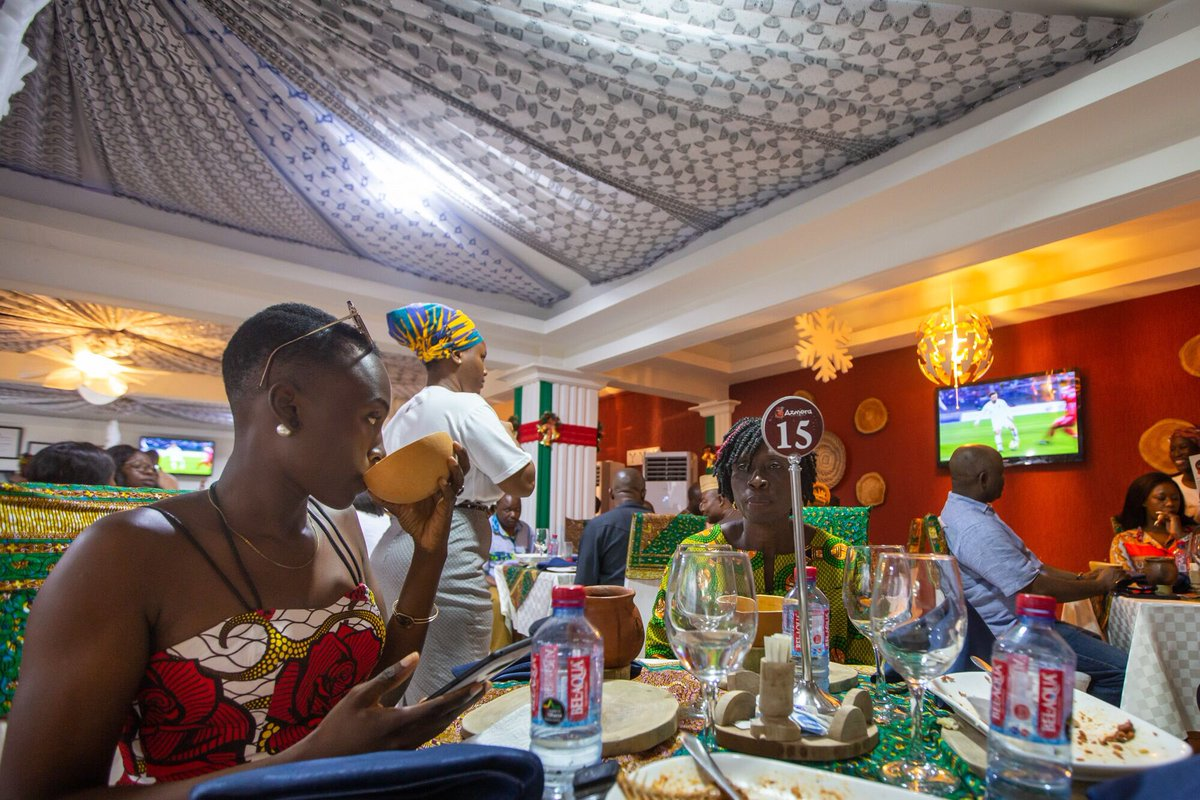 """Azmera Restaurant on Twitter: """"Fridays are for special people and special moments at Azmera. What are you celebrating today? Make it an Azmera experience. #Azmera #AzmeraRestaurant #Family #Ghana #Accra #GhanaianFood #YearOfReturn… https://t.co/tc5pKVBfdf"""""""