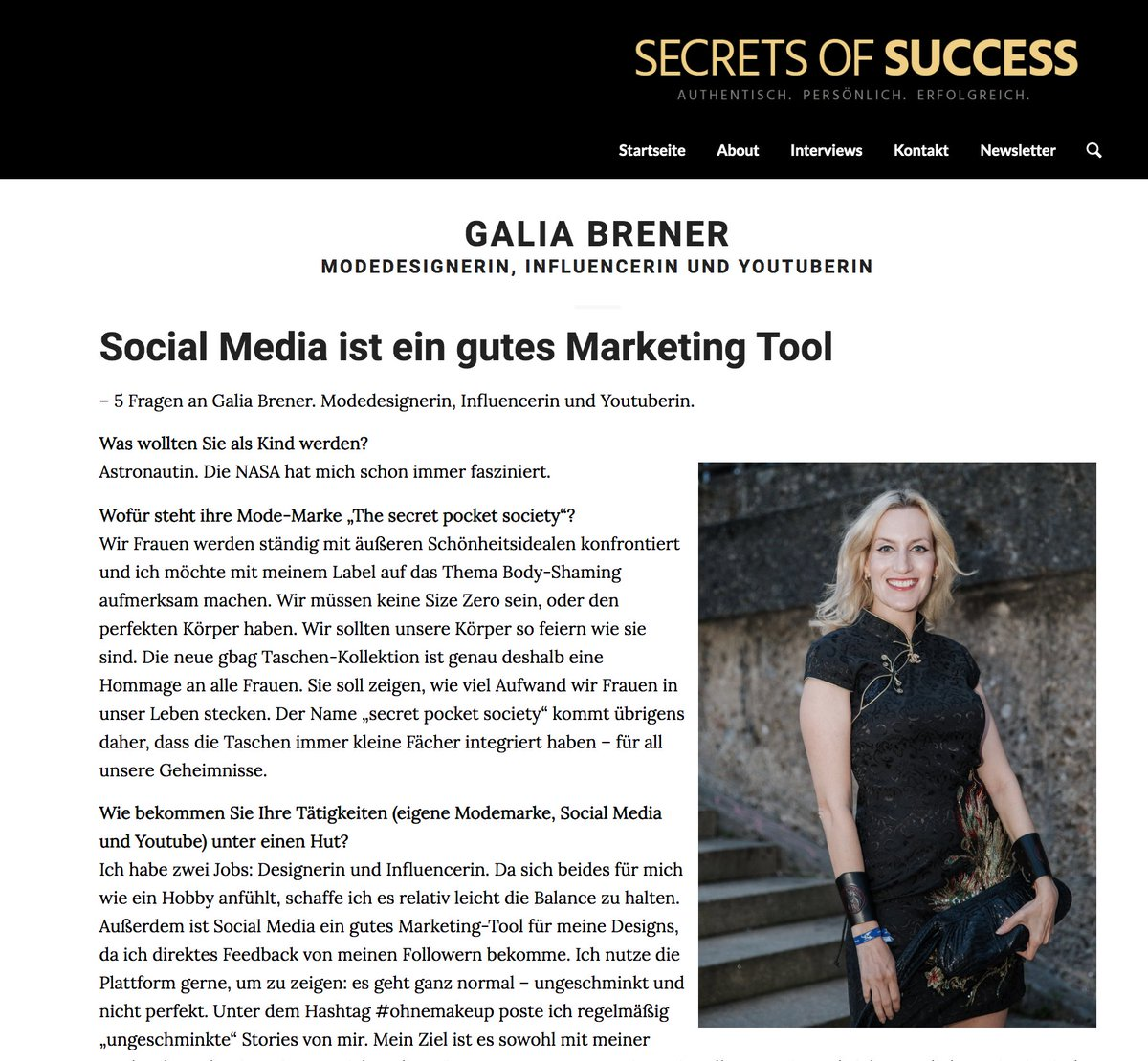 Congratulations Sören Bauer on your new magazine! It's an honor for me to be in your first publication http://www.secrets-of-success.de/social-media-ist-ein-gutes-market……  #MovieMeetsMedia #SecretsOfSuccess • Werbung •pic.twitter.com/6KTEWlCT55