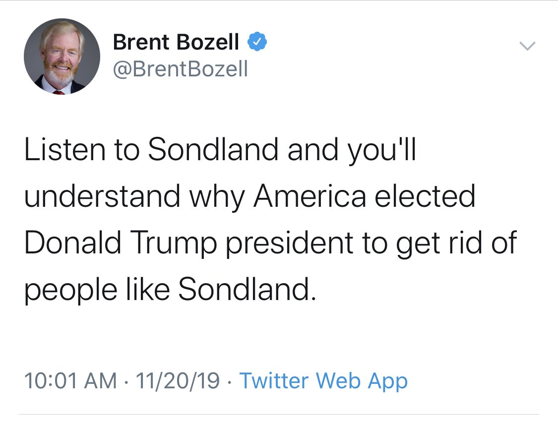 Brent Bozell- man of the people