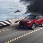 Image for the Tweet beginning: 2021 @Toyota RAV4 Prime has