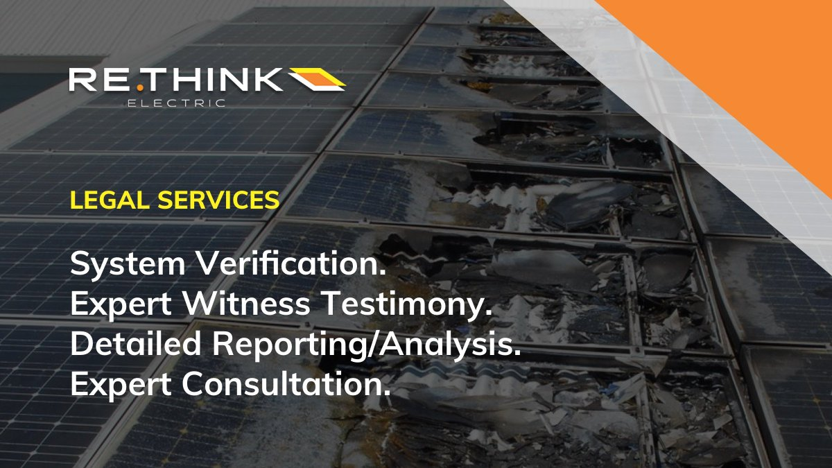 The #solar process can be daunting. Let our #solarlegal experts help protect your investment.   Our experienced #NABCEP certified team can assist in protecting your assets from low quality installations to contractual breeches: https://rethinkelectric.com/legal-services/  #solarexperts pic.twitter.com/4SOx7IKgU1