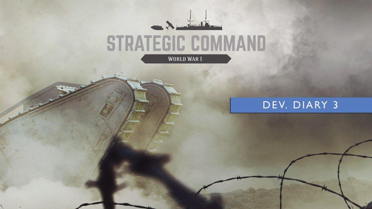 Strategic Command. World War I - Diario Dev 3 - Reconocimiento, artillería y rupturas