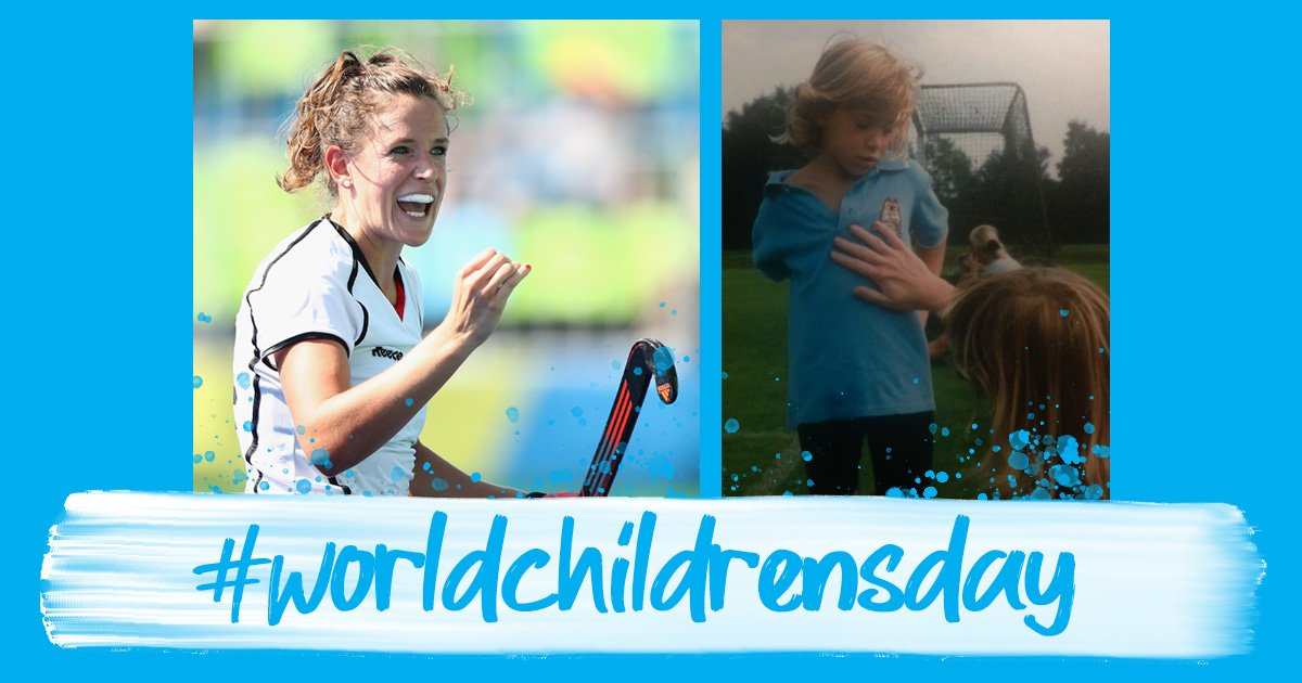 Who was your first coach? Who inspired you to play the sport you love?On this #WorldChildrensDay, don the blue kit and share your best hockey memories.@UNICEF @Janne_MW
