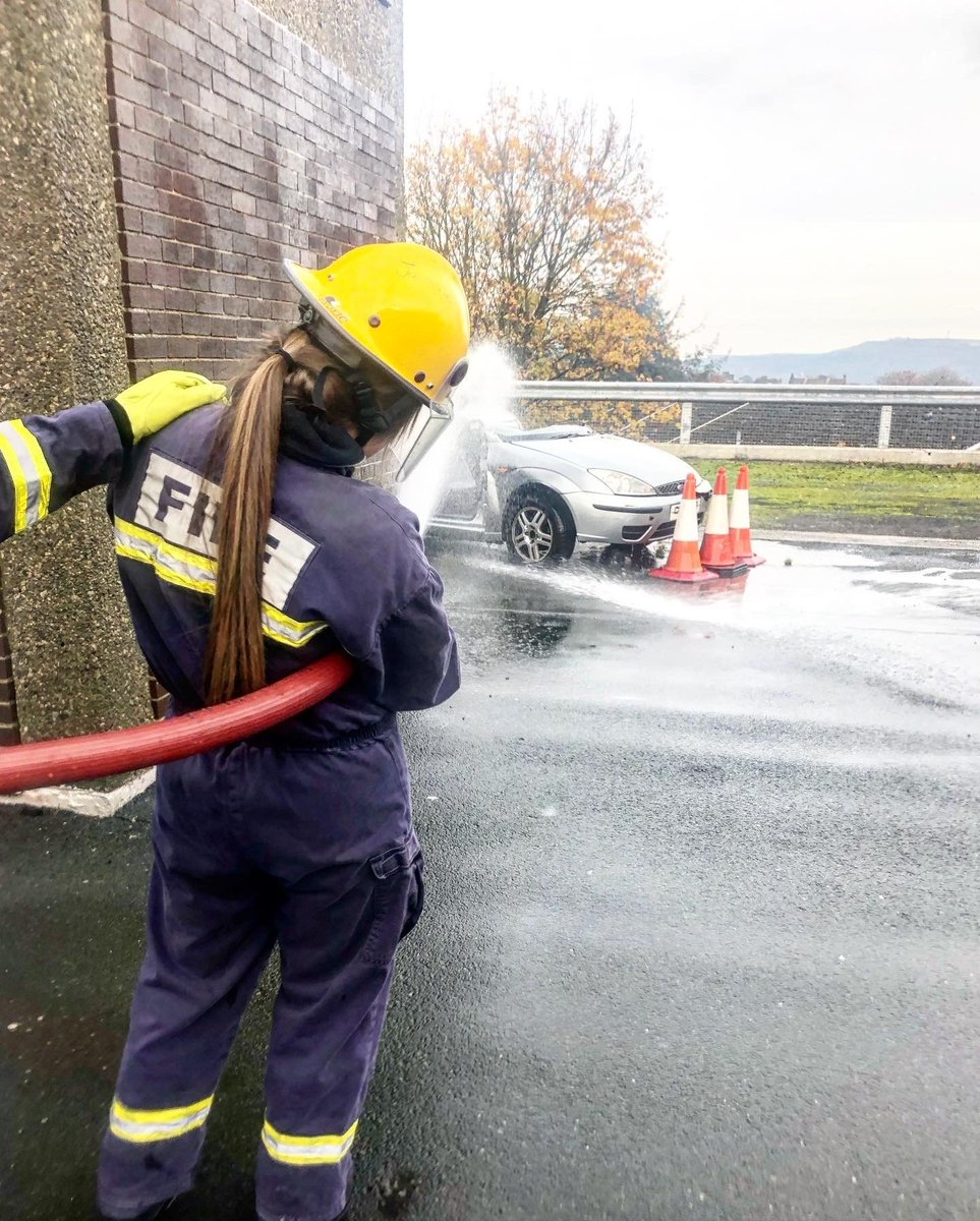 Yesterday, selected Year 9 students went to Halifax Fire Station where they took part in classroom & practical activities, looking at issues surrounding Anti Social Behaviour and thinking about the skills they need to be demonstrating for their future careers. #futurelifesavers