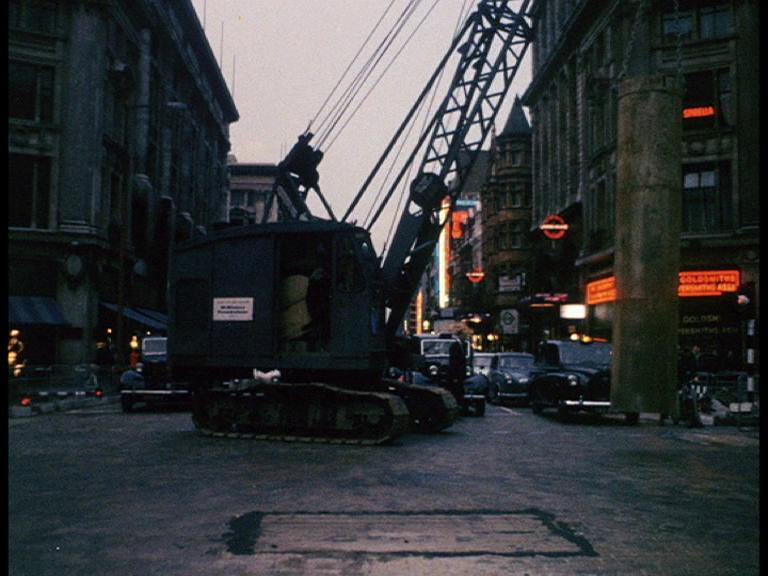 EJ0JPp5WkAEFOm6 - Construction of Oxford Circus station 1962-69