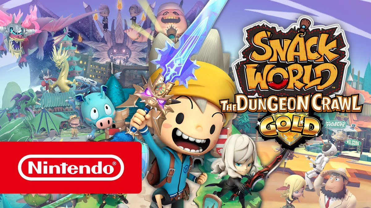 February Games With Gold 2020.Nintendo Everything On Twitter The Snack World The