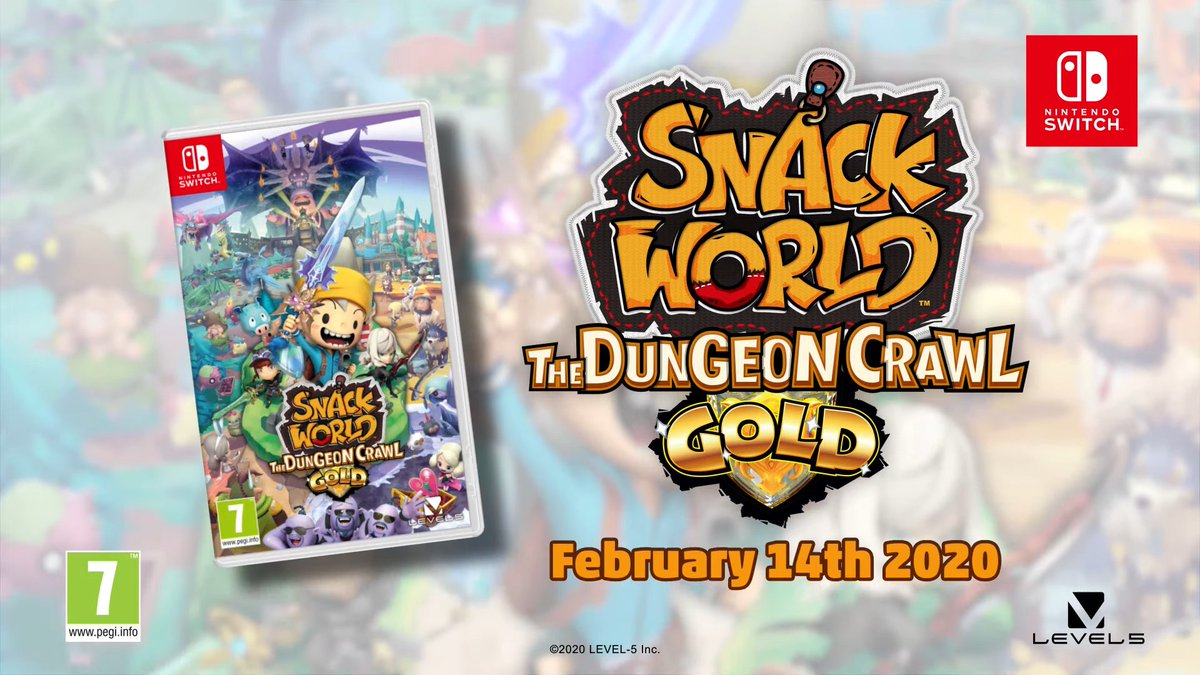 February Games With Gold 2020.Gonintendotweet On Twitter Snack World The Dungeon Crawl
