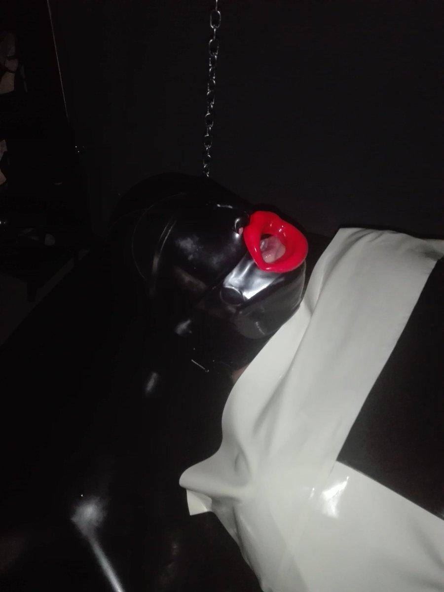Waiting for cock..  #LucieArztin #fetishkinkyclinicprague #mistress #dominatrix #femdomprague #rubberdoll #rubbermistress