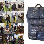We have a very special @flykartel bag package inc. a Ruck Sack & Shoulder bag, signed by @CraigDavid & other artists who performed at @tokyoworlduk 2019.  ENTER BY DOWNLOADING OUR APP & VISIT COMPETITIONS;  I-phone: https://t.co/vK1nabyPXW  Android: https://t.co/hEoRtNvfU8