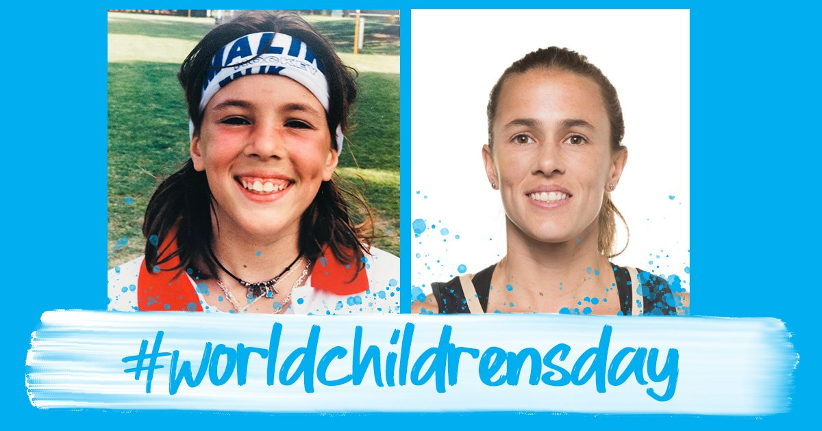 Share your hockey moments and don the blue kit on this #WorldChildrensDay @UNICEF @carlitarebecchi