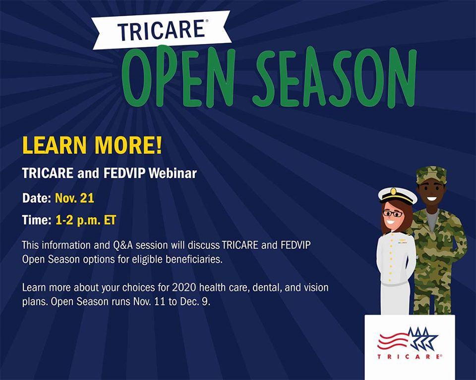 tricare open season 2020