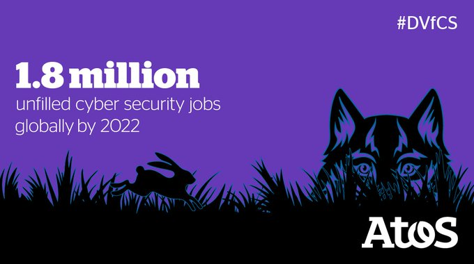 As the #digital society progresses, the cyber skills shortage is expected to grow -...