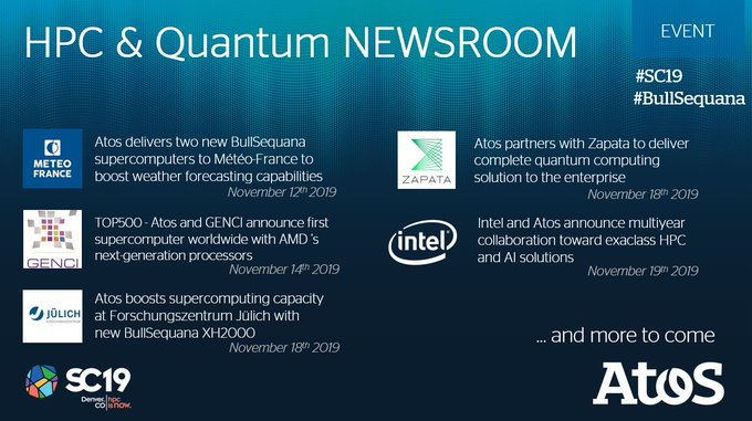 Have you seen the latest #HPC NEWS from @Atos?  Visit our Newsroom: https://t.co/rq9U6dJezB to l...