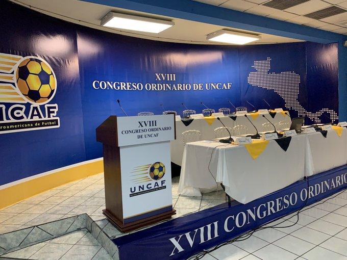 XVIII Congreso Ordinario de UNCAF y visita del presidente de FIFA Gianni Infantino a El Salvador. EJ0mv5jW4AYWPV0?format=jpg&name=small