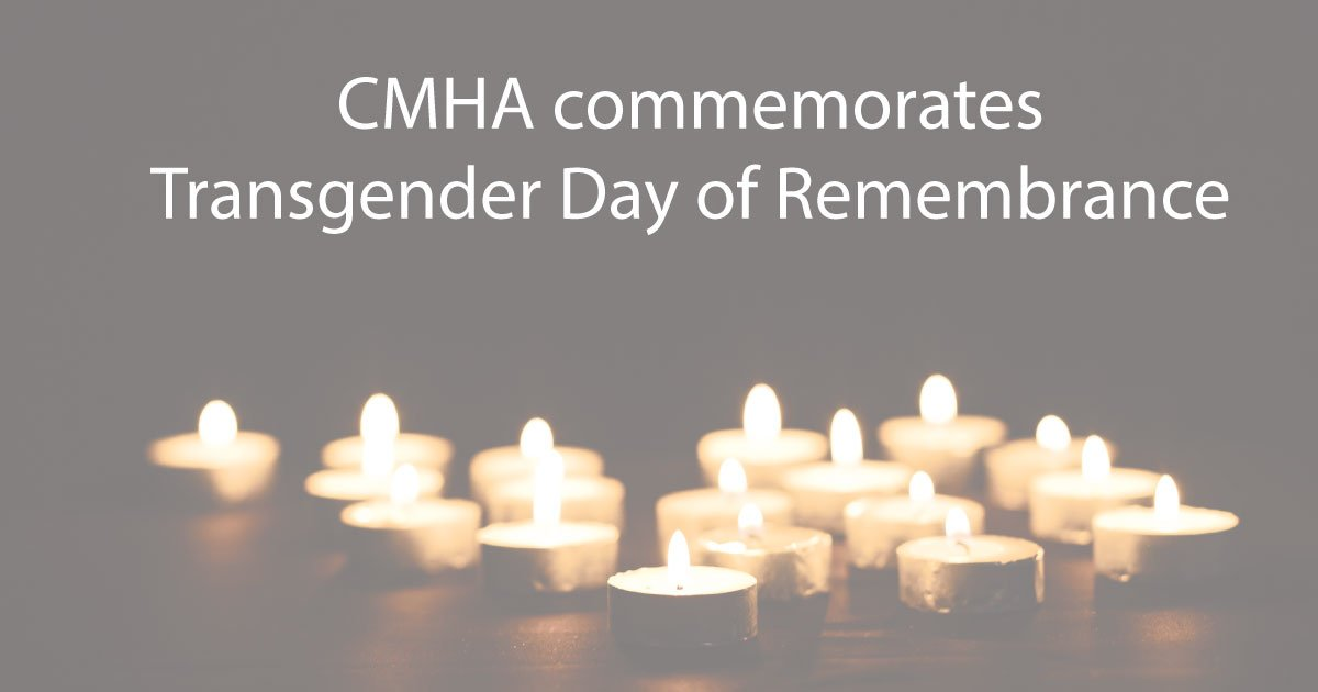 test Twitter Media - Today is the Transgender Day of Remembrance. The experiences of discrimination and violence faced by transgender people can result in poor mental health. Learn more: https://t.co/dhnEHOLMfz #TDOR https://t.co/TrMWZGlIB8