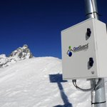 Image for the Tweet beginning: GeoGuard: #GNSS displacement #monitoring service