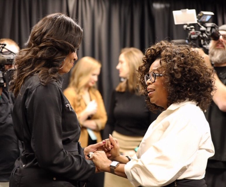 .@Oprah has been there for me in so many ways for so many years—since before my husband was even elected to the U.S. Senate. Can't wait to return the favor and join her in Brooklyn for #oprahs2020visiontour! Instagram.com/ww.now