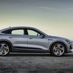 Image for the Tweet beginning: Audi E-Tron Sportback shows its