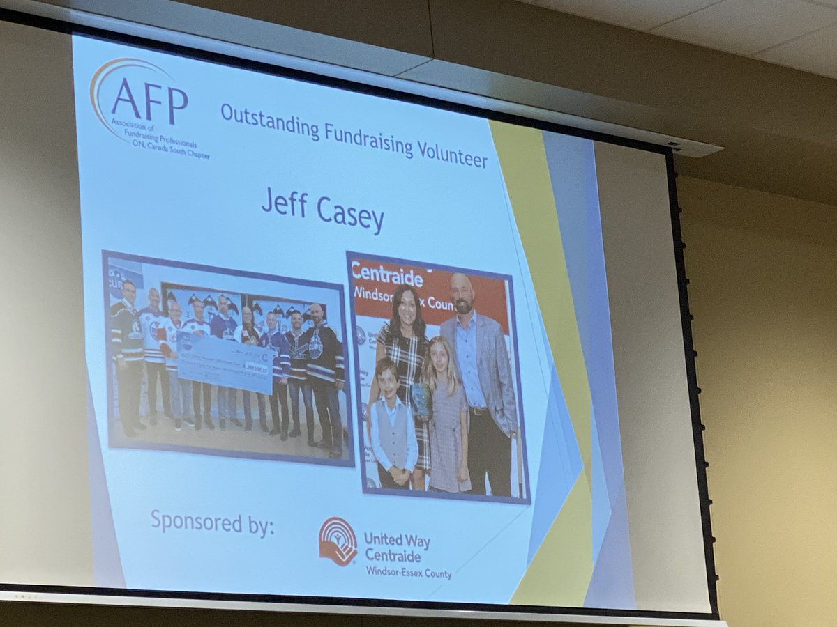 test Twitter Media - Congrats to Jeff Casey @snapdWindsor at @AFPCanadaSouth awards ceremony #YQG #NationalPhilanthropyDay -Outstanding #fundraising #Volunteer 3 values: Impact. Obligation. Opportunity to enhance #healthcare https://t.co/D76XUZBJ4f