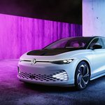 Image for the Tweet beginning: Volkswagen's ID Space Vizzion is