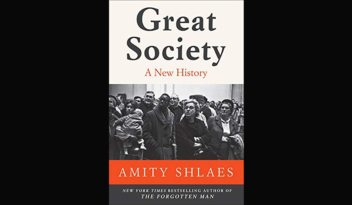 New 'Bookmonger'! @heymiller is joined by @AmityShlaes to discuss her book, 'Great Society.'