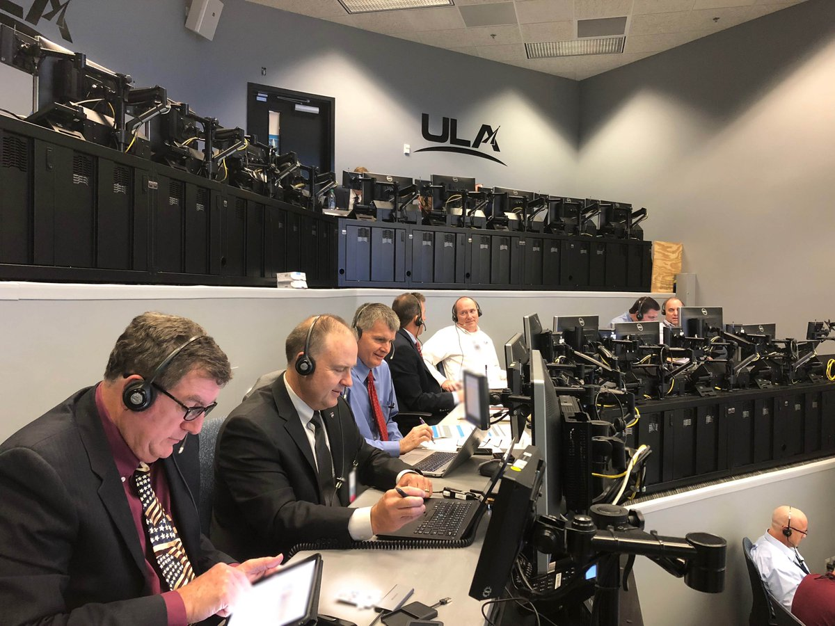 Teams from ULA, @BoeingSpace, @NASA @Commercial_Crew and @45thSpaceWing conducted the Mission Dress Rehearsal yesterday to practice countdown scenarios for the upcoming launch of the #AtlasV #Starliner on the Orbital Flight Test.Learn more in our blog: https://www.ulalaunch.com/missions/atlas-v-starliner-updates…