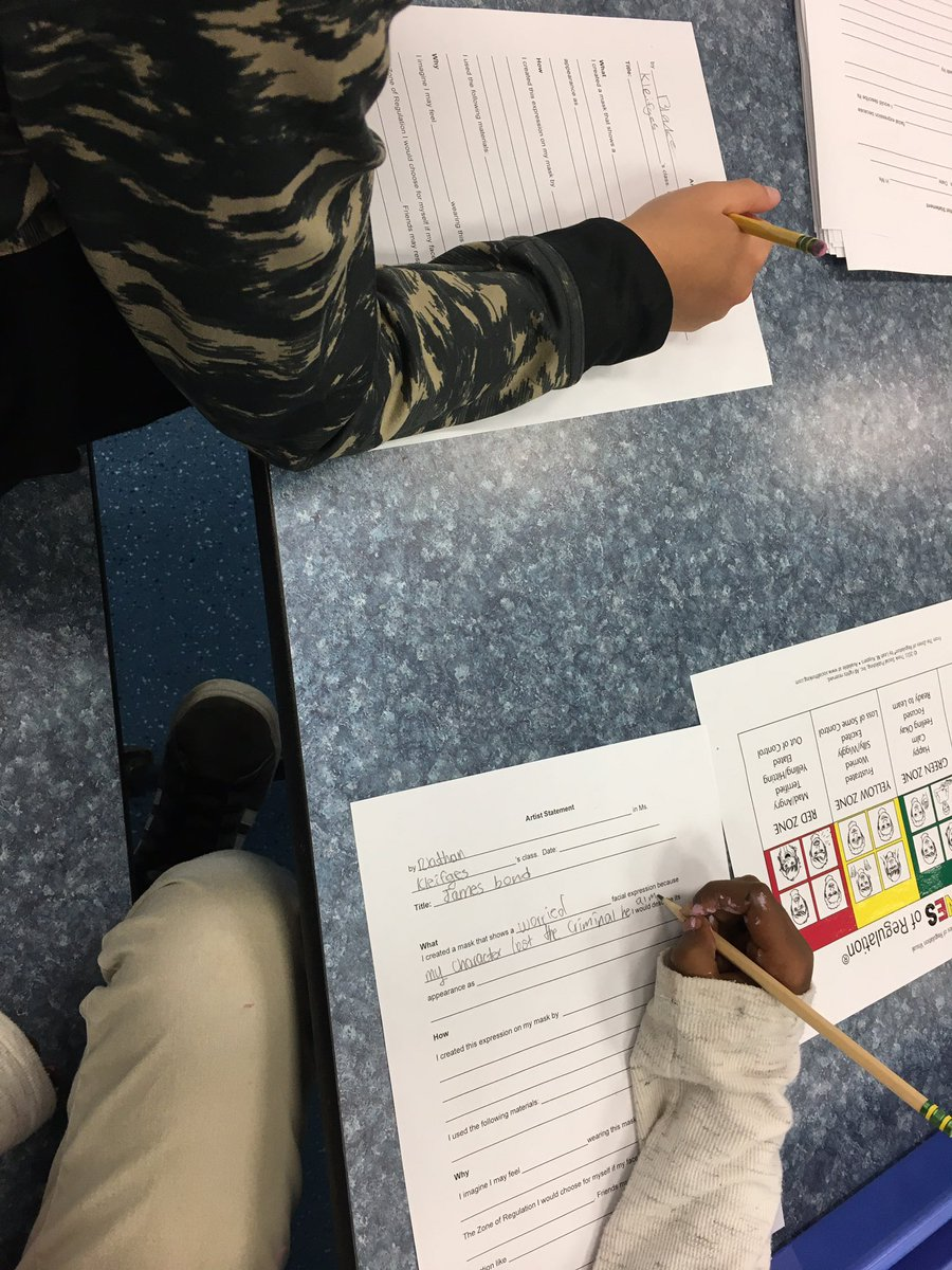 Gr 5 artists are in art show prep mode- finalizing their facial expression masks, checking their rubrics, and planning their artist statements. We are BUSY. Dec 11 will be a fantastic evening of the arts! <a target='_blank' href='http://twitter.com/CampbellAPS'>@CampbellAPS</a> <a target='_blank' href='http://twitter.com/APSArts'>@APSArts</a> <a target='_blank' href='http://twitter.com/mskleif'>@mskleif</a> <a target='_blank' href='http://twitter.com/MsRoseTweets'>@MsRoseTweets</a> <a target='_blank' href='http://twitter.com/OConnor4_5'>@OConnor4_5</a> <a target='_blank' href='http://twitter.com/MsSullivan_APS'>@MsSullivan_APS</a> <a target='_blank' href='https://t.co/ZdQBqYZ4Mt'>https://t.co/ZdQBqYZ4Mt</a>