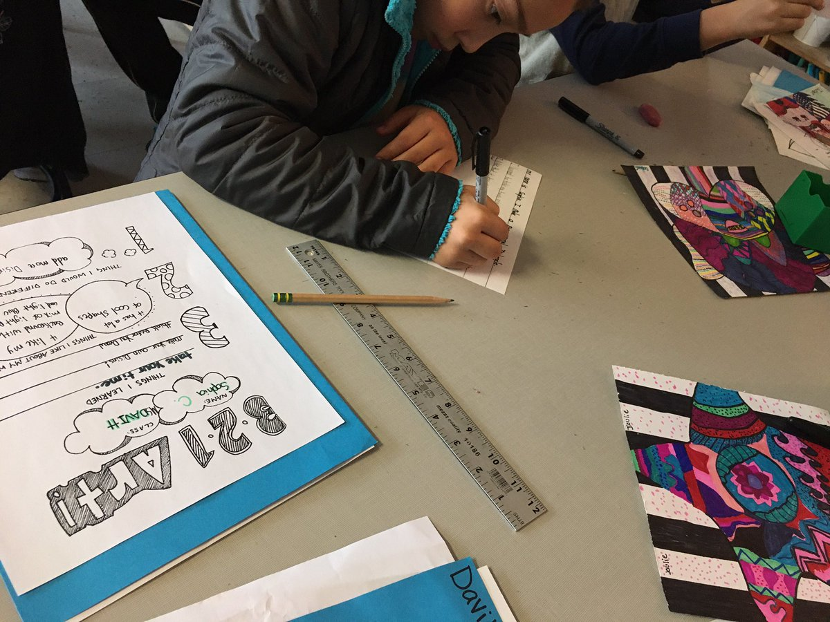 Gr 4 artists are finalizing artist statements to display with their gorgeous zentangle animal designs for the upcoming 4-5 art show Dec 11. <a target='_blank' href='http://search.twitter.com/search?q=artistsreflect'><a target='_blank' href='https://twitter.com/hashtag/artistsreflect?src=hash'>#artistsreflect</a></a> <a target='_blank' href='http://twitter.com/MsPerrysclass1'>@MsPerrysclass1</a> <a target='_blank' href='http://twitter.com/davitt45'>@davitt45</a> <a target='_blank' href='http://twitter.com/MsOlsons_Class'>@MsOlsons_Class</a> <a target='_blank' href='http://twitter.com/APSArts'>@APSArts</a> <a target='_blank' href='http://twitter.com/CampbellAPS'>@CampbellAPS</a> <a target='_blank' href='http://twitter.com/ThinkCampbell'>@ThinkCampbell</a> <a target='_blank' href='https://t.co/diTfgOHGZj'>https://t.co/diTfgOHGZj</a>