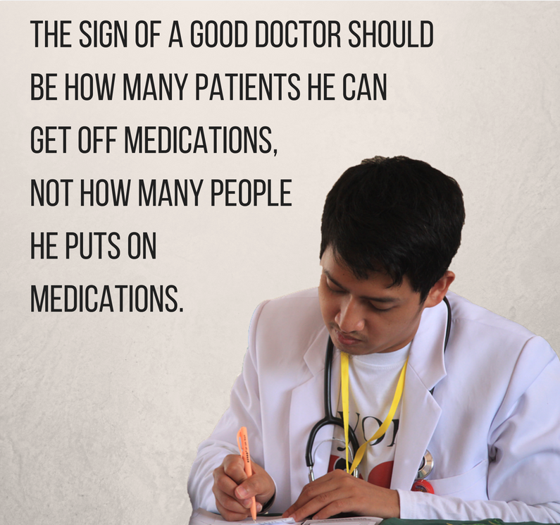 It would be nice if Drs improved our health... instead of drugging everyone up 😏