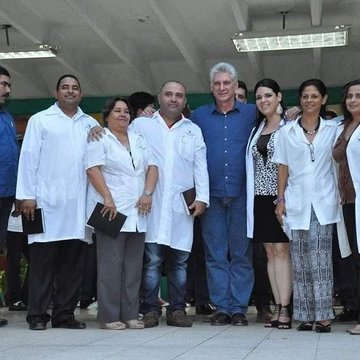 The morale of our health cooperation workers prevails over #Trump s perversity. #ImpeachmentIn5Words  #NoMoreTrump  #PompeoIsACoward  #ImpeachmentHearings  #SomosCuba  🇨🇺
